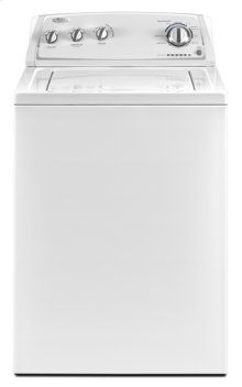 White-on-White Whirlpool® 3.5 cu. ft. Top Load Washer