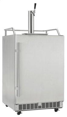 Keg Cooler Built-in, outdoor, full size Keg Cooler