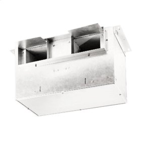 Ventilator; 406 CFM Straight Through, 1.6 Sones; 391 CFM Right Angle, 1.2 Sones. 120V