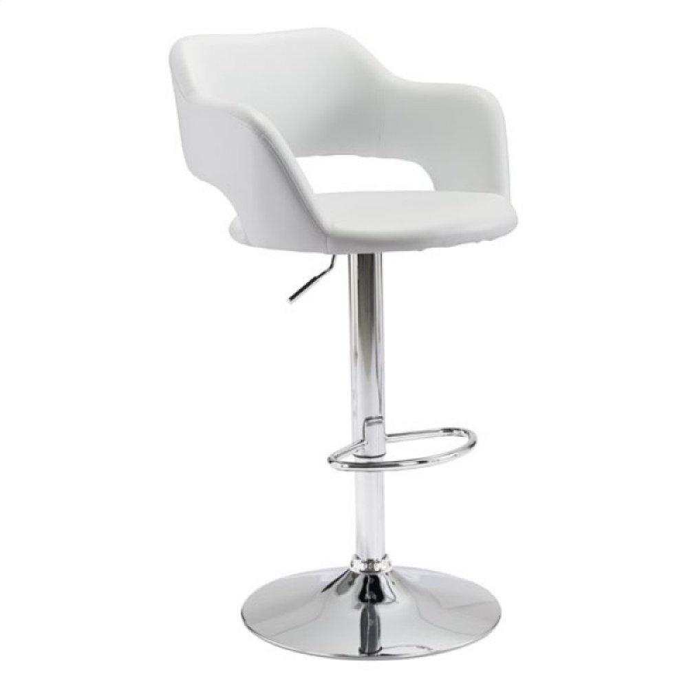 Hysteria Bar Chair White
