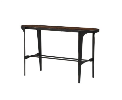 Emerald Home Franklin's Forge Sofa Table-wood Top With Metal Legs-t247-02