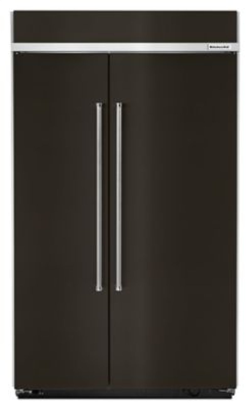 30 0 Cu Ft 48 Inch Width Built In Side By Refrigerator With
