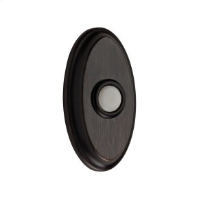 Venetian Bronze BR7016 Oval Bell Button