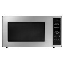 "Heritage 24"" Microwave, Silver Stainless Steel"