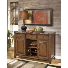 Dining Room Server Lacey - Medium Brown Collecion Ashley at Aztec Distribution Center Houston Texas