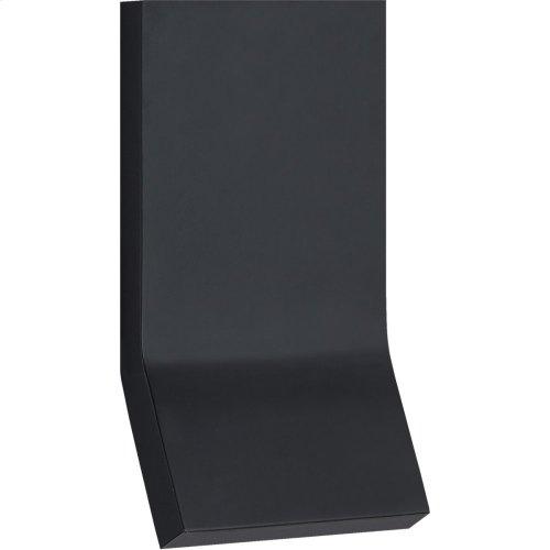 Visual Comfort PB2052MBK Peter Bristol Bend LED 5 inch Matte Black Square Light Wall Light, Medium