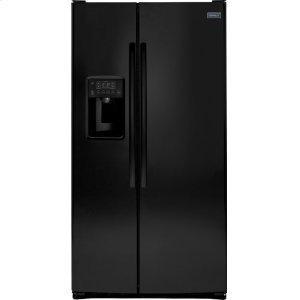 Crosley Side By Side Refrigerator - Black - BLACK