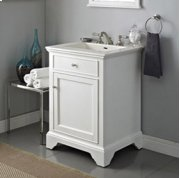 "Framingham 24"" Vanity - Polar White Product Image"