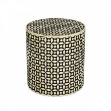 Ecliptic Round Side Table-Stool