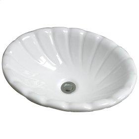 Corona Drop-In Basin - Bisque