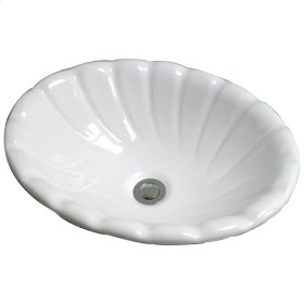 Corona Drop-In Basin - Bisque