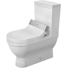 White Starck 3 Two-piece Toilet For Sensowash®