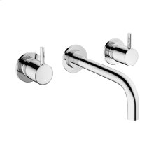 MPRO Wall Mounted Widespread Lavatory Faucet Trim - Polished Chrome