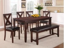 Clara 5-pk Dinette Table+chair Set