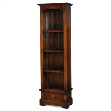 Manchester Narrow 1 Drawer Bookcase