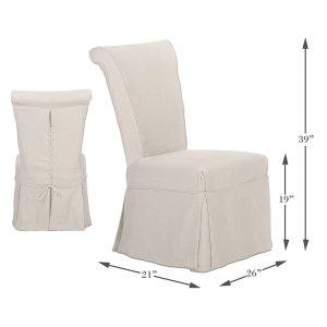 Sarreid LtdCorseted Side Chair