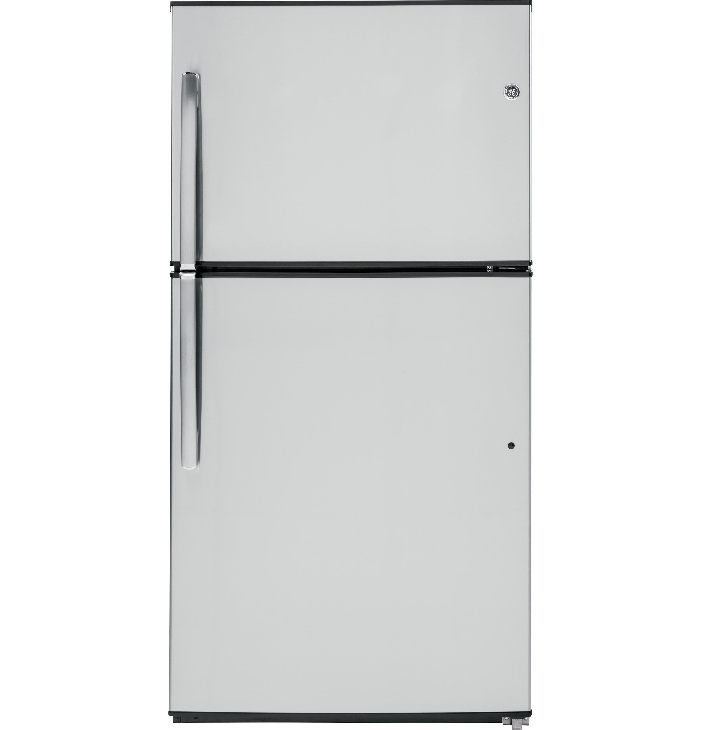 GE(R) ENERGY STAR(R) 21.1 Cu. Ft. Top-Freezer Refrigerator