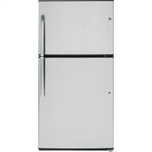 GE ®energy Star® 21.1 Cu. Ft. Top-Freezer Refrigerator