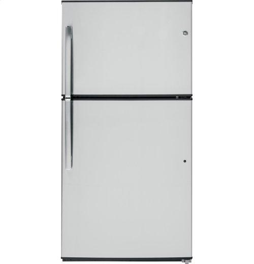 GE® ENERGY STAR® 21.1 Cu. Ft. Top-Freezer Refrigerator