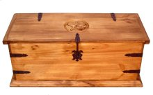 """39"""" Rectangle Trunk W/star"""