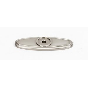 Classic Traditional Backplate A1565 - Satin Nickel