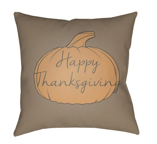 "Happy Thanksgiving HPY-003 20"" x 20"""