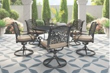 Rose View - Brown 2 Piece Patio Set