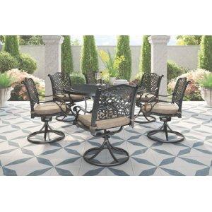Ashley Furniture Swivel Chair W/cushion (2/cn)