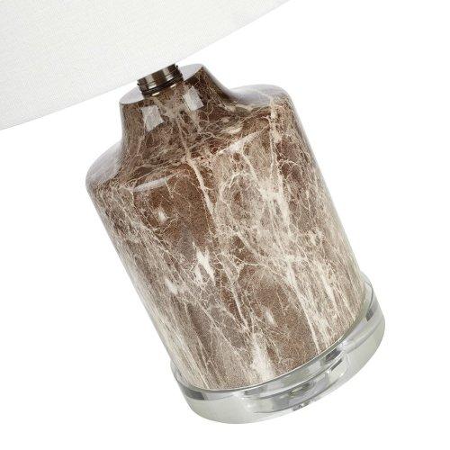 Noidal Faux Marble Mini Lamps - Ast 2