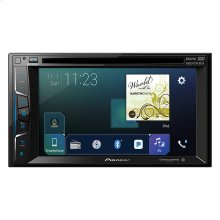 "Multimedia DVD Receiver with 6.2"" WVGA Display, Apple CarPlay "", Built-in Bluetooth®, SiriusXM-Ready "" and AppRadio Mode +"