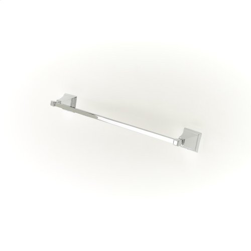 18in Towel Bar Leyden Series 14 Polished Chrome