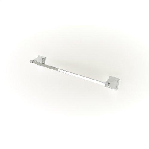 24in Towel Bar Leyden (series 14) Polished Chrome