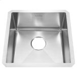 American StandardPrevoir Stainless Steel Undermount 17 Inch by 17 Inch 1-Bowl Kitchen Sink - Brushed Satin