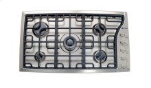 "Stainless Steel 36"" Gas 5 - Burner Side Control"