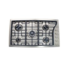"""Stainless Steel 36"""" Gas 5 - Burner Side Control"""