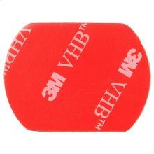 Polaroid Spare Single Sided Adhesive for The XS100, XS80 Action Camera Fitting Piece