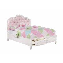 Caroline Full Storage Bed