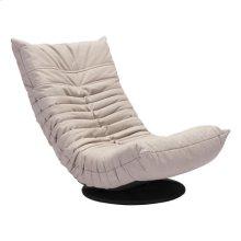 Down Low Swivel Chair Beige