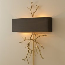 Twig Wall Sconce-Brass/Bronze
