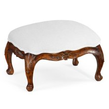 Upholstered Footstool (Small)
