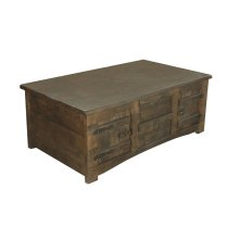 Cocktail Table w/4 Drawer & 4 Doors