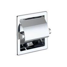 Toilet paper holder - chrome-plated