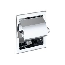 Toilet paper holder - chrome-plated