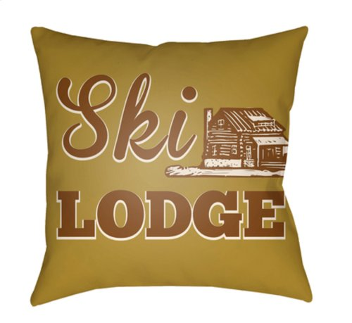 "Lodge Cabin LGCB-2040 22"" x 22"""