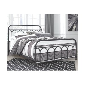 Ashley Furniture Queen Metal Hdbd/ftbd/rails
