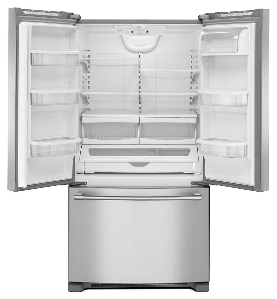 33 Inch Wide French Door Refrigerator   22 Cu. Ft.