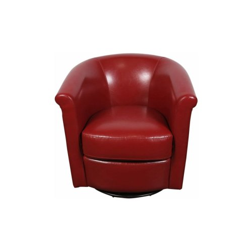 Marvel Swivel Chair, Red, AC204