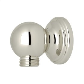 Polished Nickel Perrin & Rowe Wall Outlet For Handshower