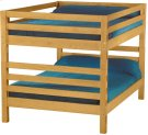 Bunkbed, Queen over Queen, tall Product Image