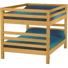 Bunkbed, Queen over Queen, tall